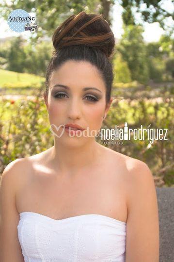 Noelia rodriguez maquilladora