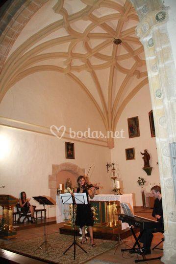 Concierto en iglesia