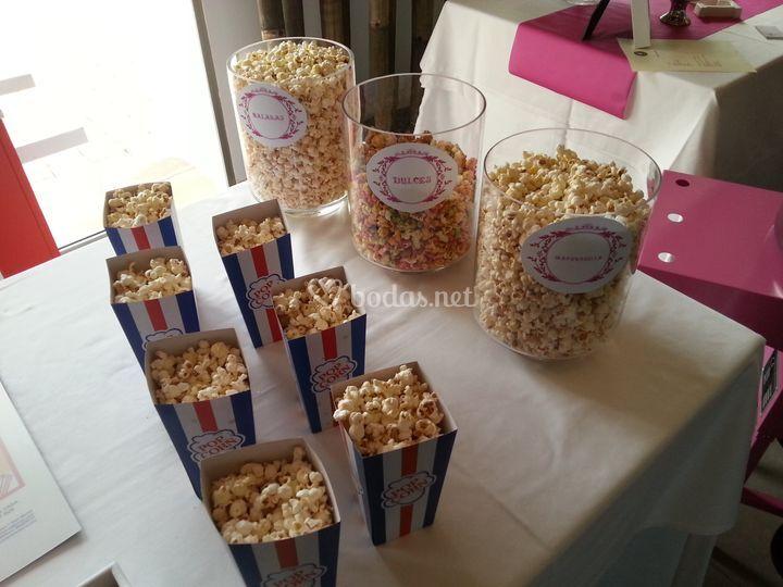 Envases pop corn