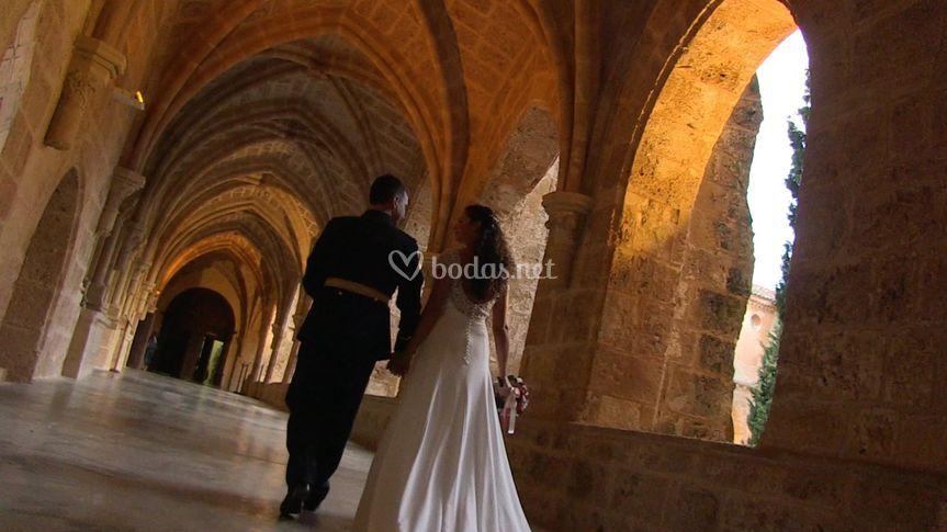Paseos por el monasterio