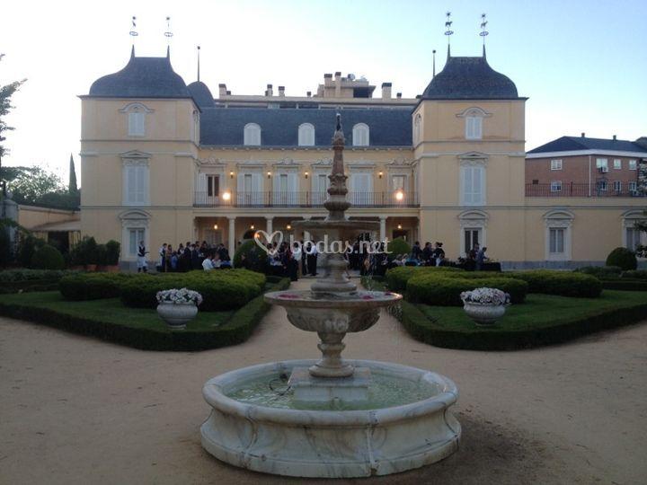 Boda en palacio