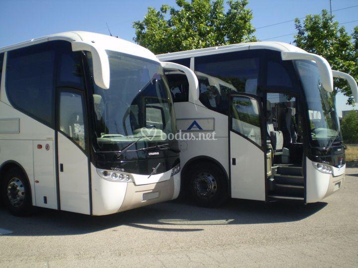 Vehículos de transporte de pasajeros
