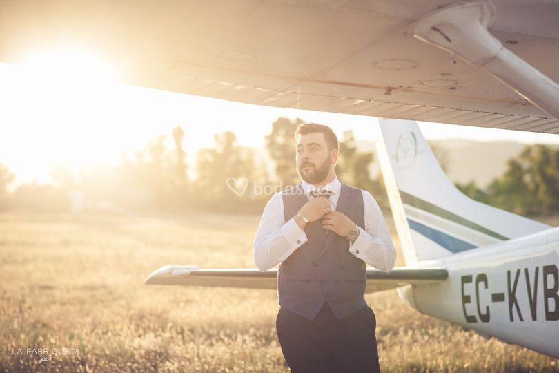 Aviador con estilo