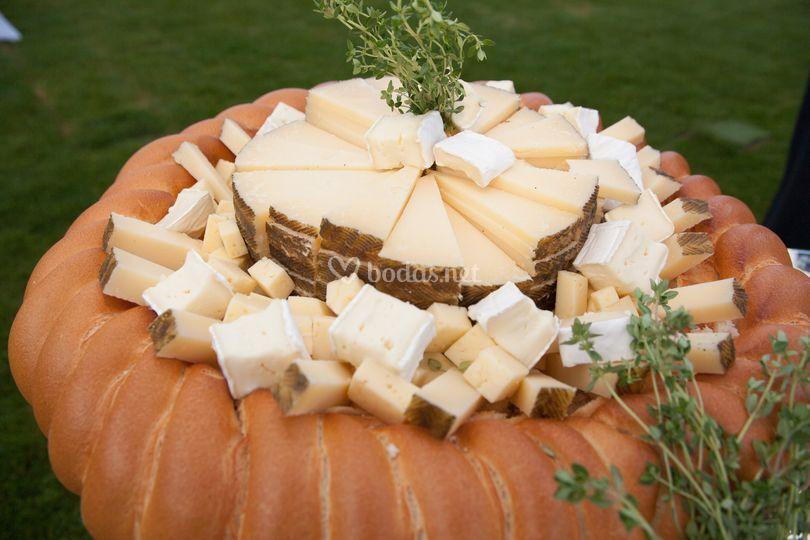 Hogaza de quesos