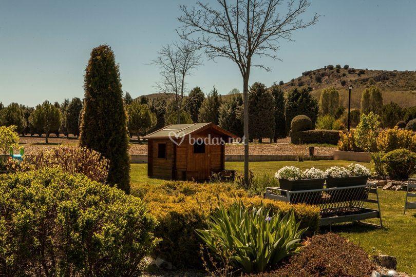 Jardín Finca del Obispo