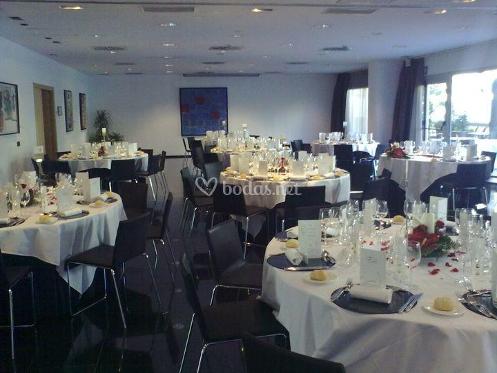 Banquetes en el hotel
