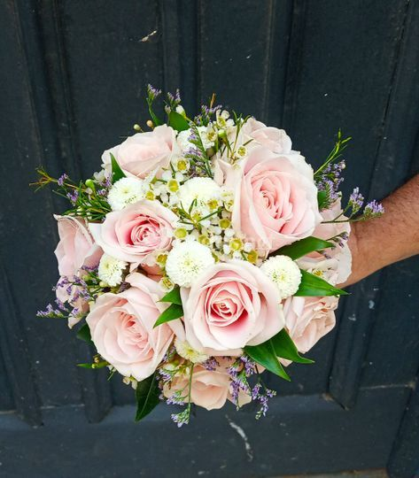 Bouquet de rosas para Victoria