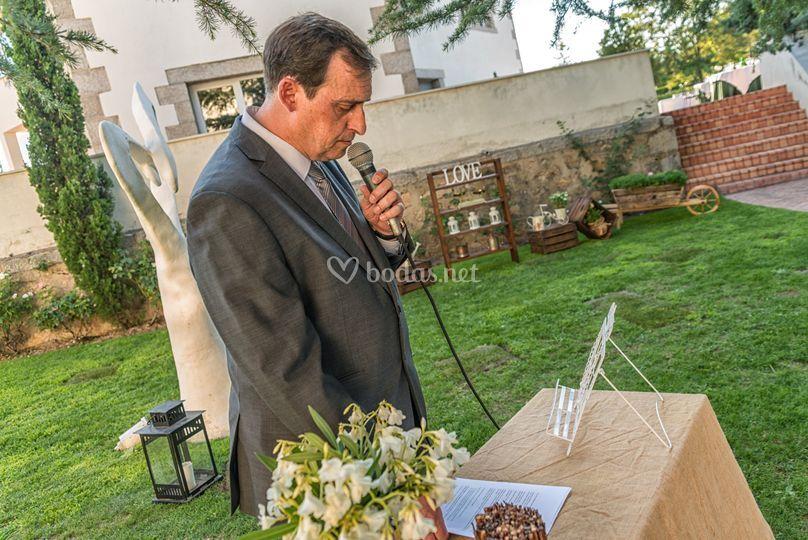 Maestro de ceremonias