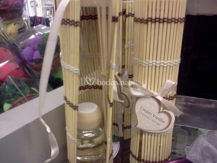 Popuri con bambú