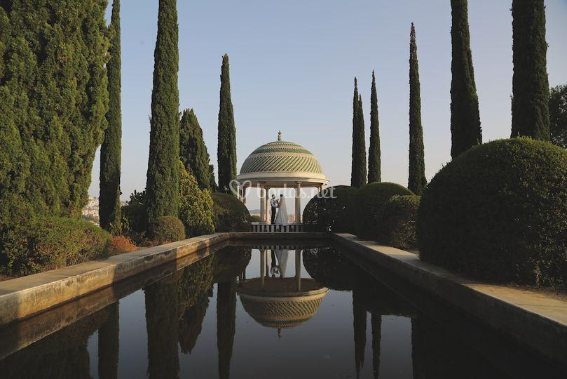 Jardín botánico de Málaga