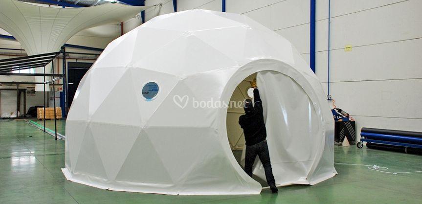 Smartdome 30 m2 en blanco