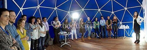 Interior smartdome 30m2