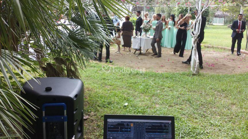 Ceremonias, micros y sonido