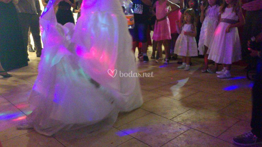Inicios de baile de novios