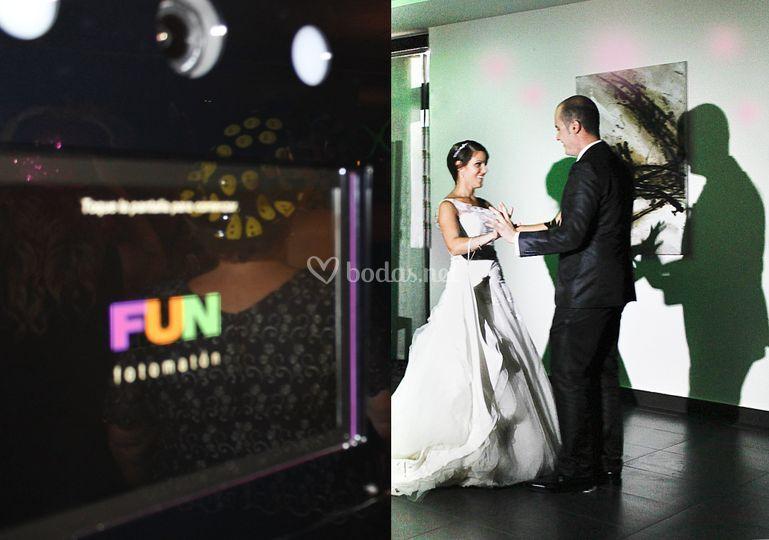 Luego del baile, fotomatón