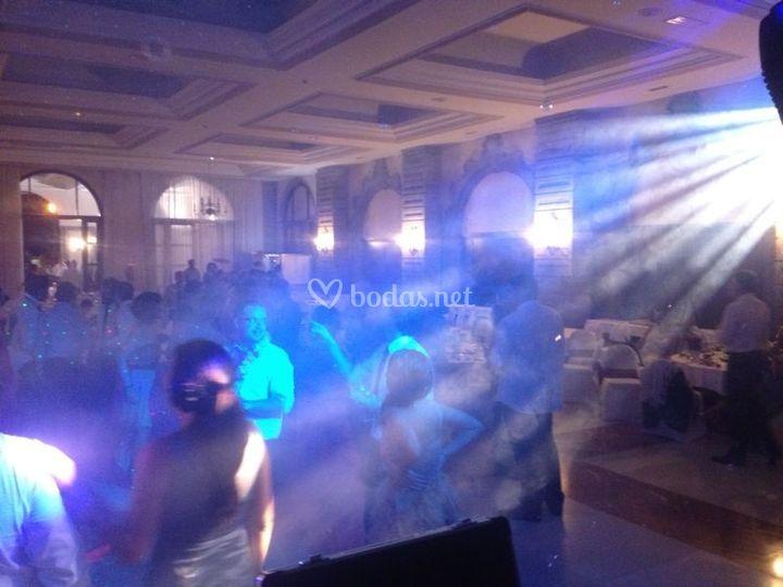 Iluminación LED boda