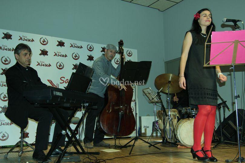 Nuria Tamayo - Swing Quartet