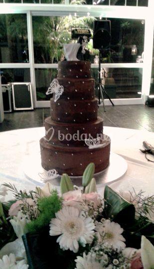 Tarta nupcial Chocolat de 5 pisos