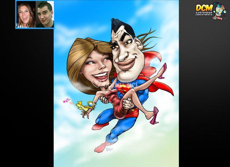 "DCM Caricatura ""Comic"""