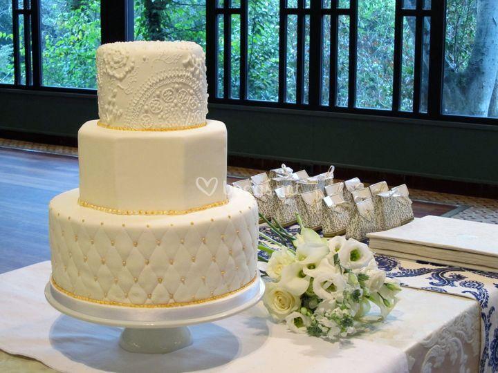 Tarta de boda 100 pax