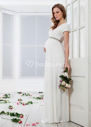 e0465fa77d2 Vestido novia premamá de Paramamá | Fotos