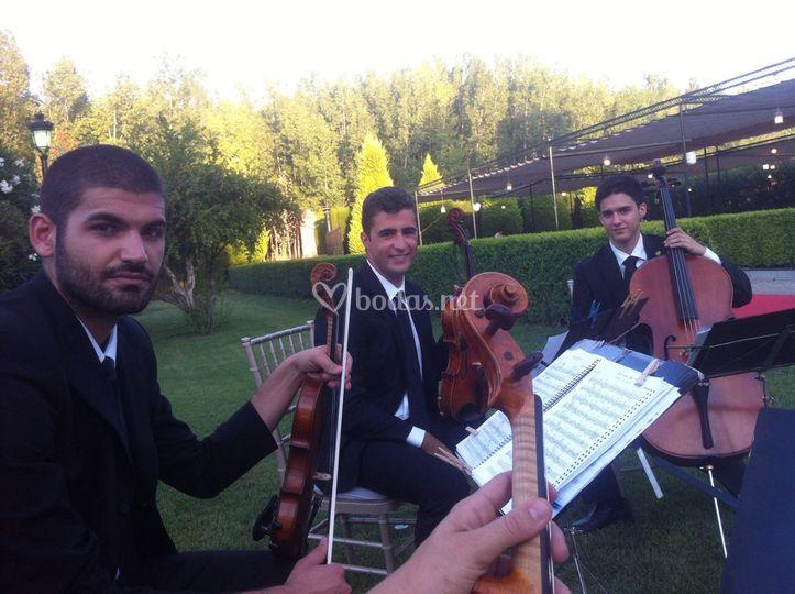 Simón, Antonio y Rubén