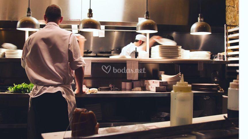 Cocinas y personal