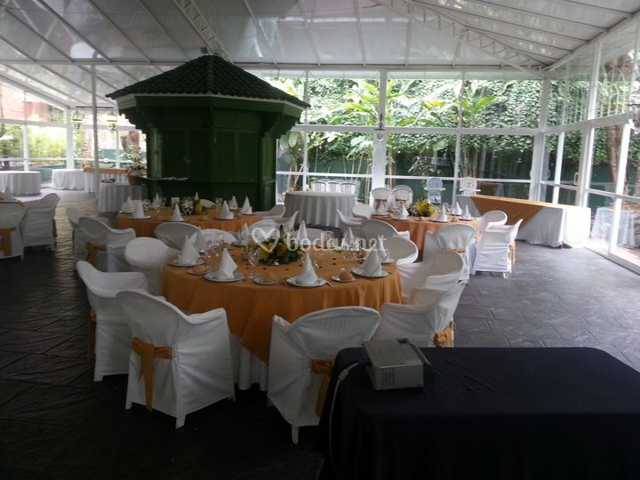 Espacio para boda