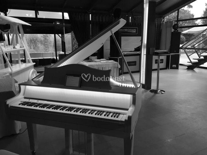 Piano con leds