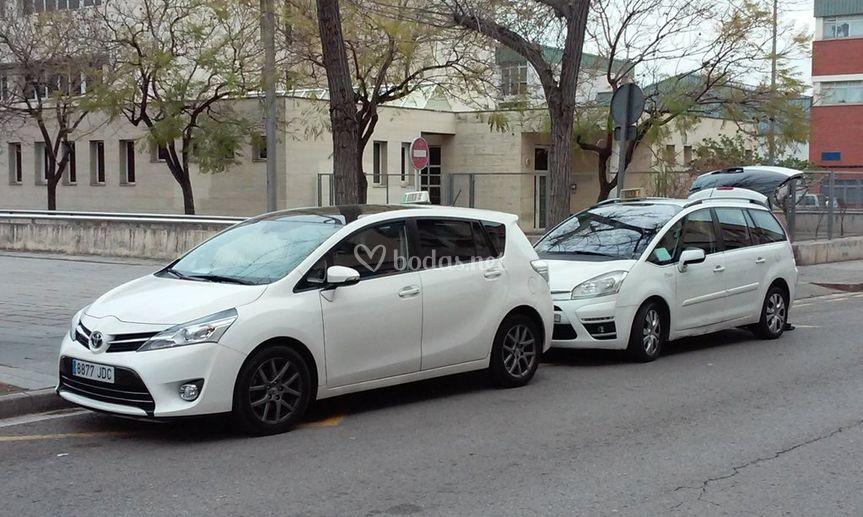 Vehiculos para invitados