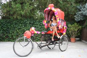 Rickshaw - Taxi hindú