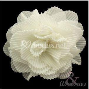 Flor plisada