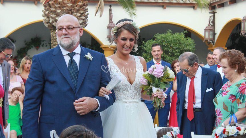Entrada boda civil