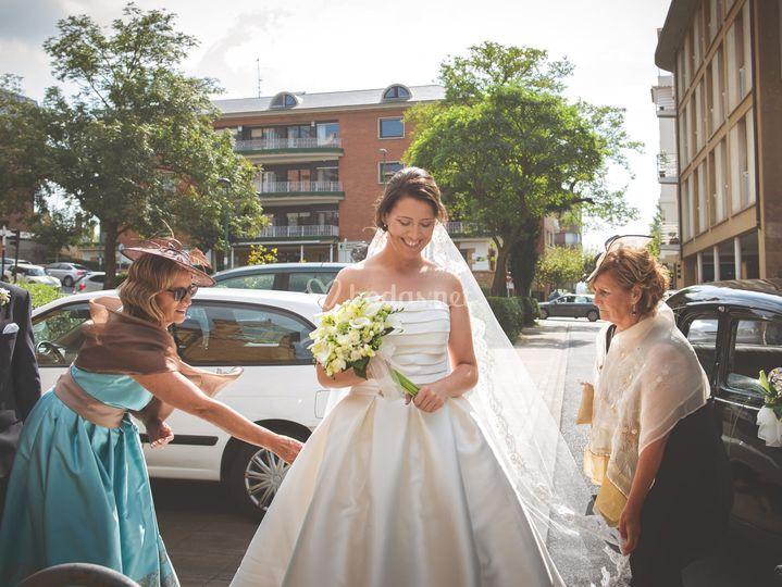 Entrada de la novia