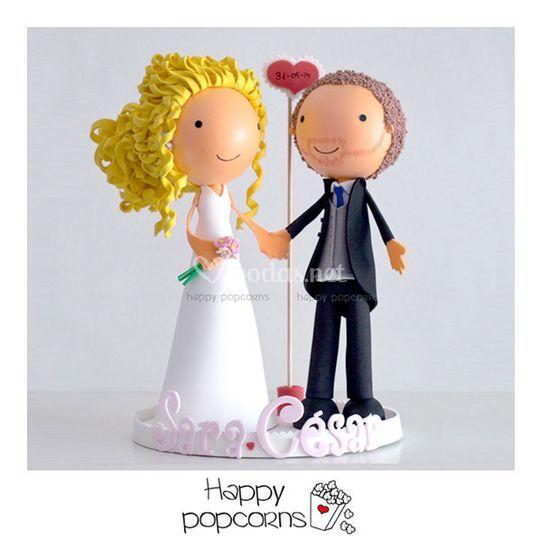 Muñecos de tarta personalizado