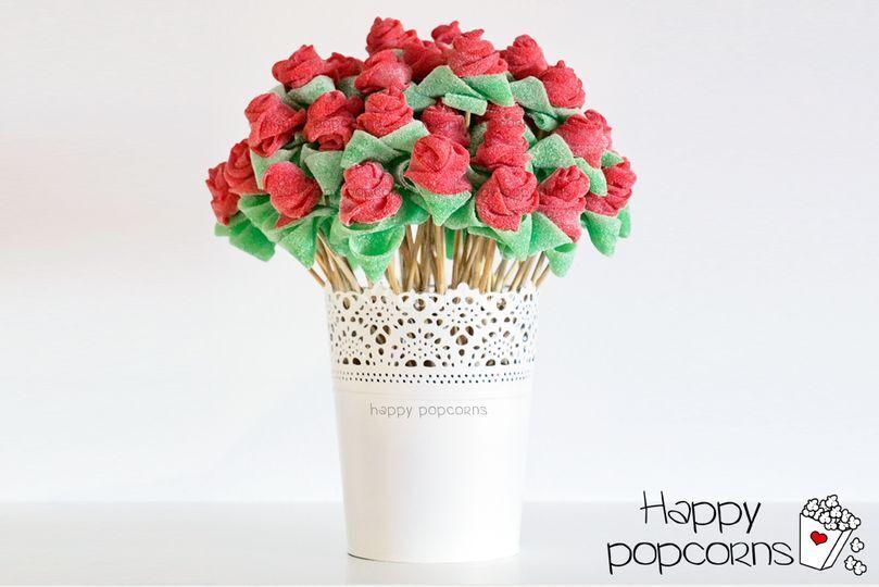 Ramos de rosas dulces