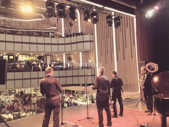 Actuación en Platea Madrid