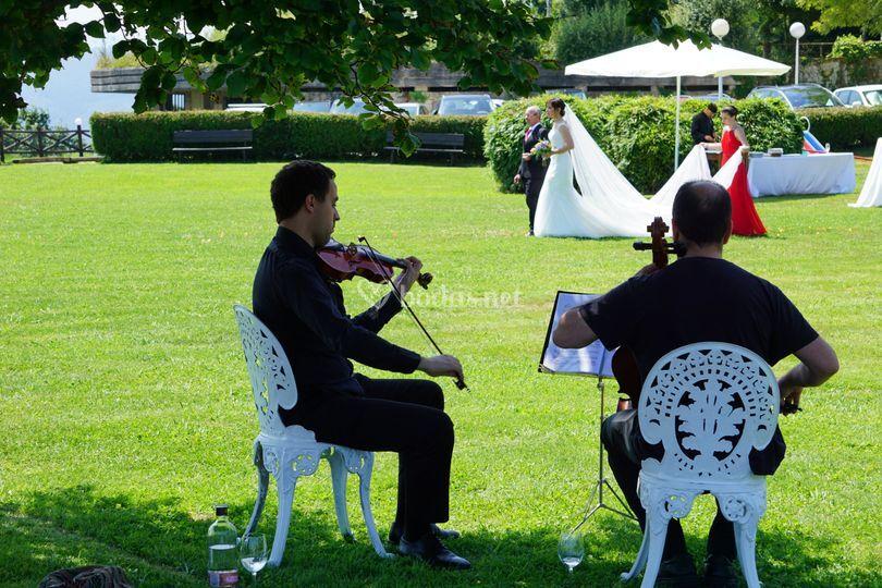Duo de violines