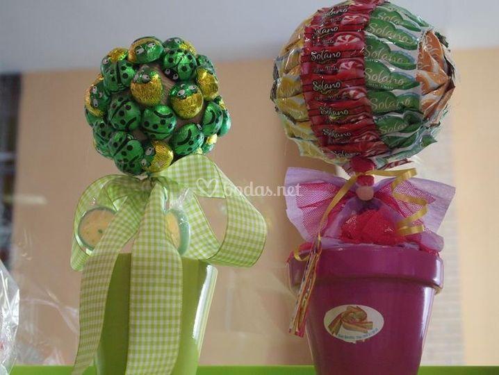 rboles de caramelos