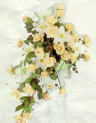 Rosas con caída