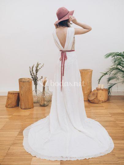 Vestido de novia - Modelo Yeres