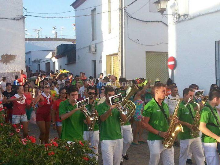 Actuación Santa Bárbara