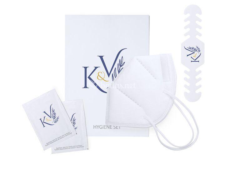Set higiénico kn95