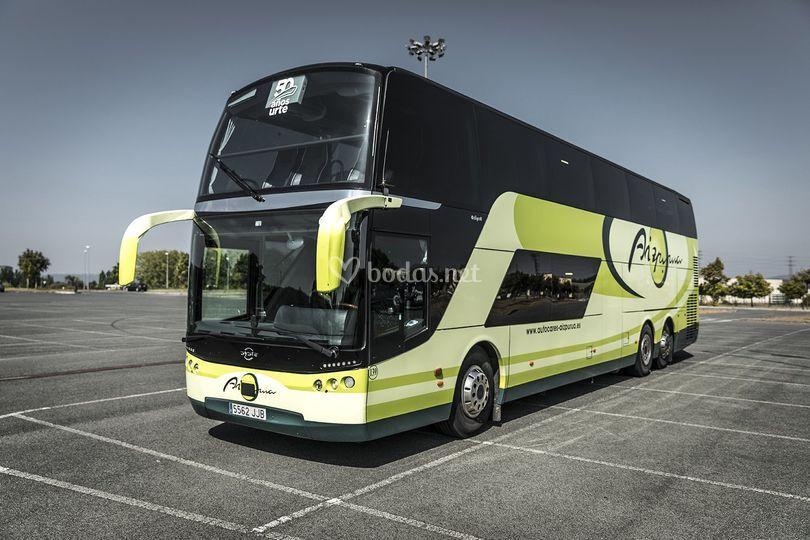 Buses de 80 plazas