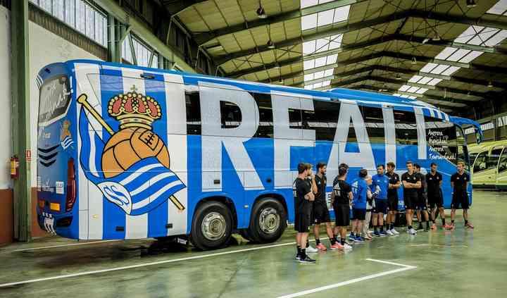Autobús Real Sociedad