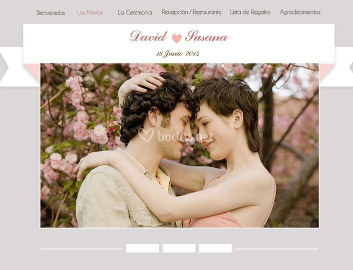 Web de tu boda