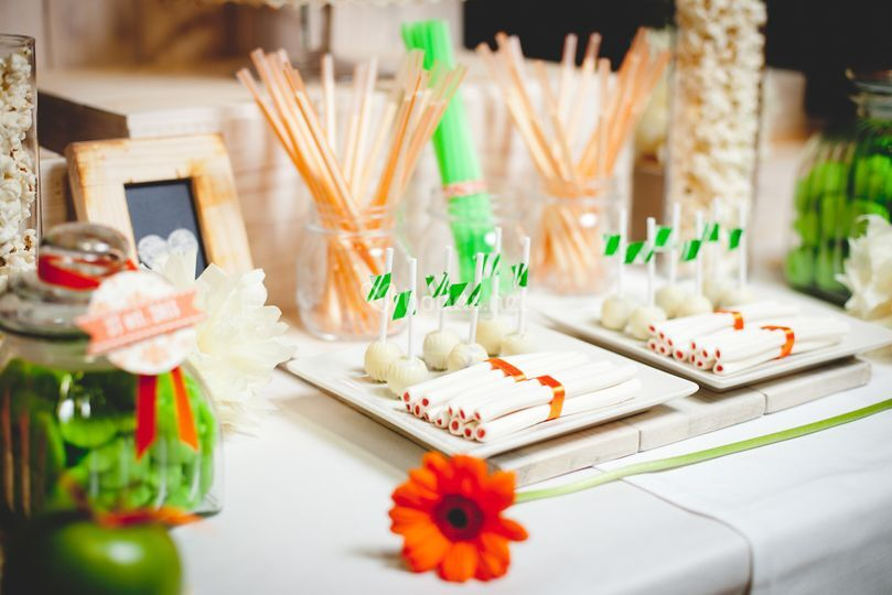 Candy bars o mesa de chuches