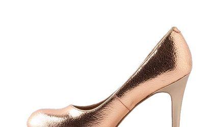 Metalizando - Zapatos bañados en oro