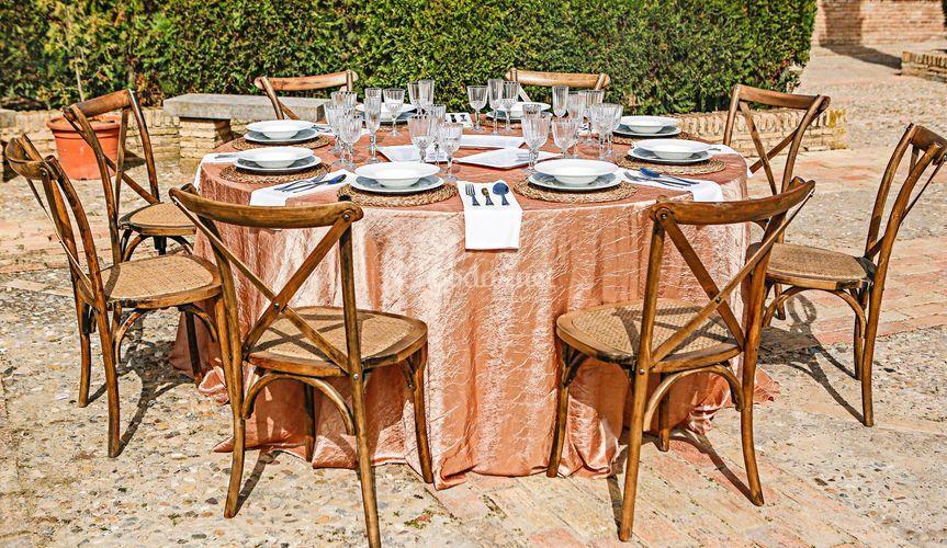 Mantel & complementos banquete