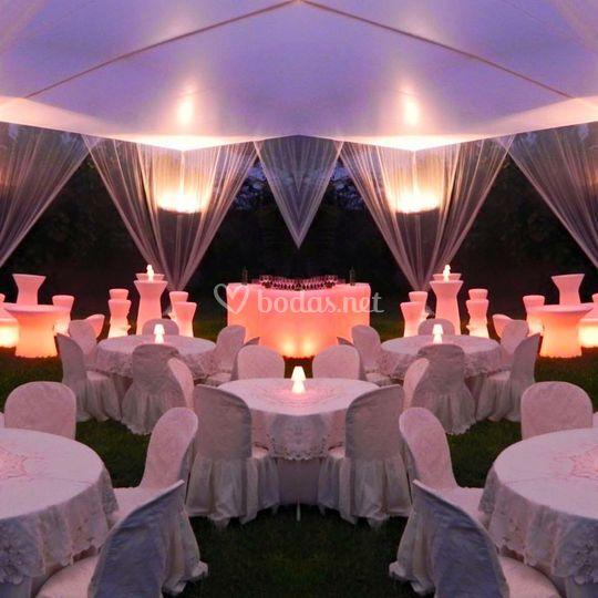 Montaje boda con encanto